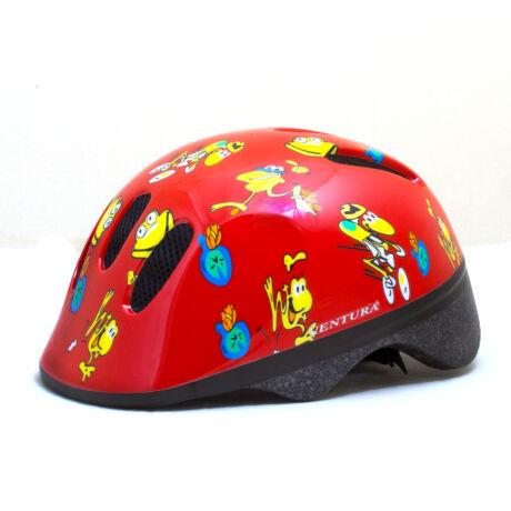 Futóbicikli bukósisak - piros