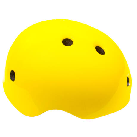 Futóbicikli bukósisak - citromsárga