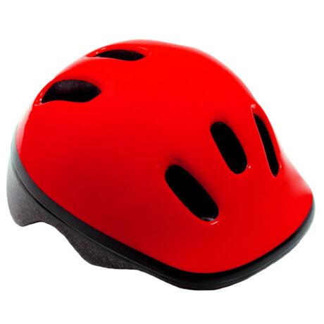 Futóbicikli bukósisak - piros - XS
